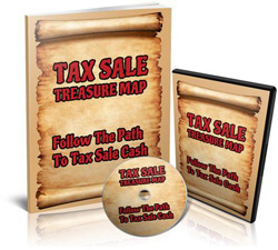 Tax Sale Treasure Map Product Display 250 Foreclosure Overages